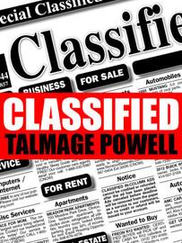 Classified, by Talmage Powell (epub/Kindle/pdf)