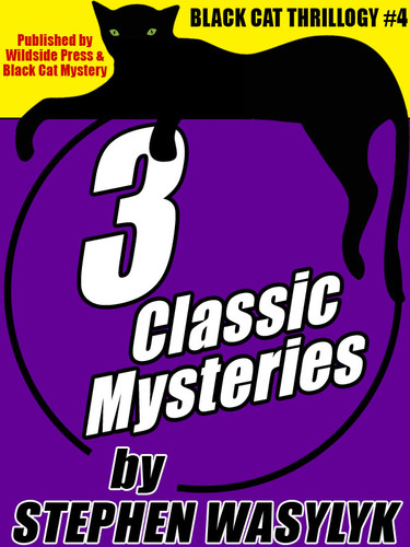 Black Cat Thrillogy #4: 3 Classic Mysteries by Stephen Wasylyk (epub/Kindle/pdf)