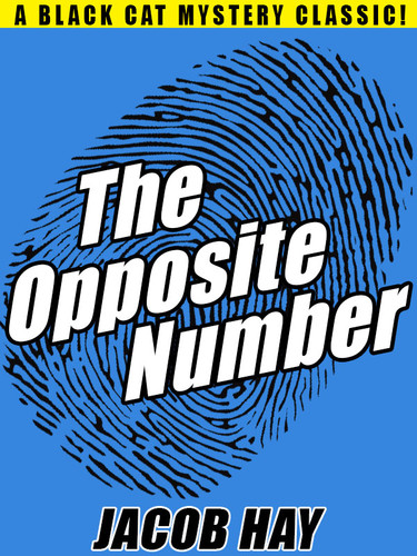 The Opposite Number, by Jacob Hay (epub/Kindle/pdf)