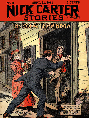 Nick Carter #2: The Face at the Window, by Nicholas Carter (epub/Kindle/pdf)