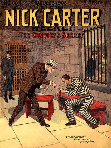 Nick Carter #604: The Convict's Secret, by Nicholas Carter (epub/Kindle/pdf)