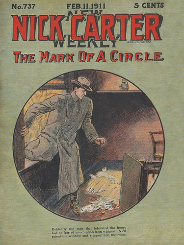 Nick Carter 737 - The Mark of a Circle, by Nicholas Carter (epub/Kindle/pdf)