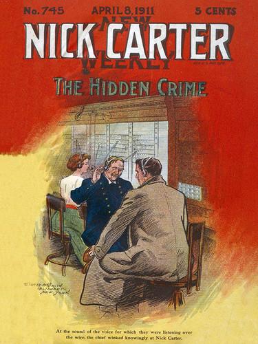 Nick Carter 745: The Hidden Crime, by Nicholas Carter (epub/Kindle/pdf)