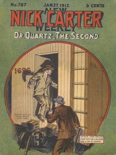 Doctor Quartz, the Second (Nick Carter #787), by Nicholas Carter (epub/Kindle/pdf)