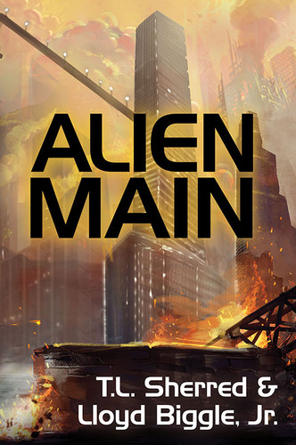 Alien Main, by T. L. Sherred and Lloyd Biggle, Jr. (paperback)