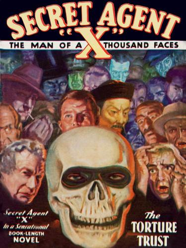 Secret Agent X: The Torture Trust, by Brant House (epub/Kindle)