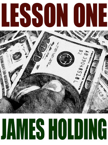 Lesson One, by James Holding (epub/Kindle)