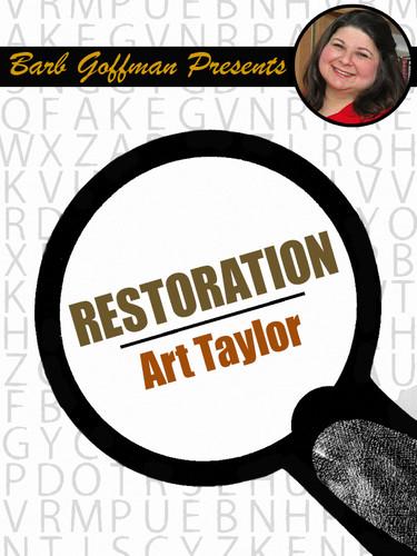 Barb Goffman Presents #7: Restoration, by Art Taylor (epub/Kindle)