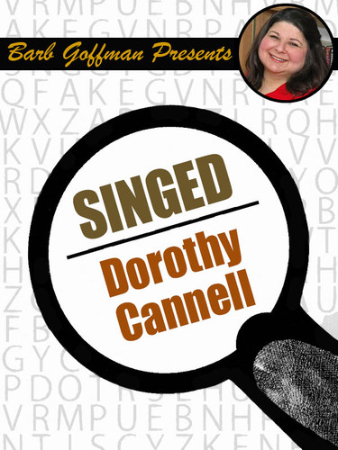 Singed, by Dorothy Cannell (epub/Kindle)