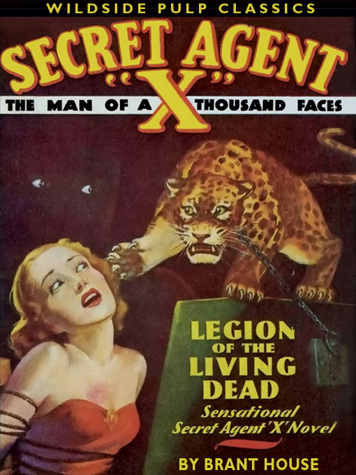 Secret Agent X: Legion of the Living Dead, by Brant House  (epub/Kindle/pdf)