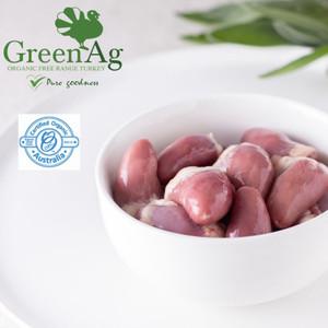 Certified Organic Free Range Chicken Hearts