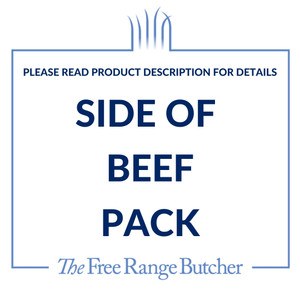 Purchase a side of beef and save. Pay the deposit and balance is due prior to delivery