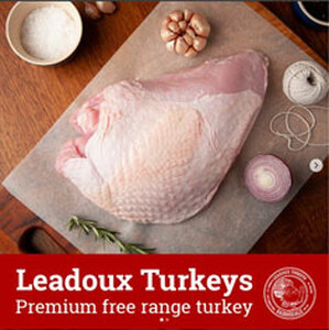 Free Range Turkey Breast Skin On - (Christmas Pre-Order)