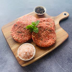 Lamb, Mint & Haloumi Burgers