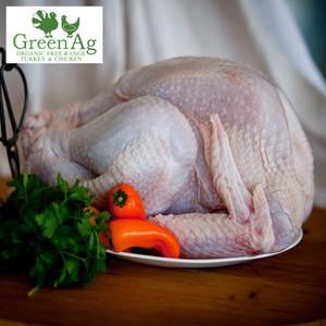 Certified Organic Free Range Whole Turkey