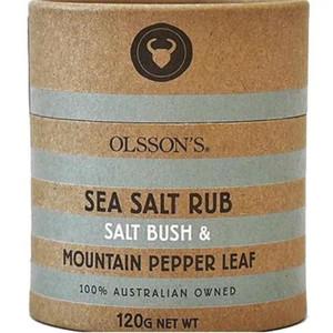 Olssons - Saltbush & Mountain Pepper Leaf