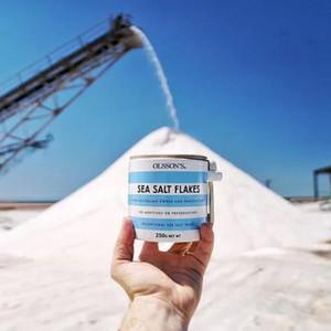 Olssons - Sea Salt Flakes Stoneware Jar