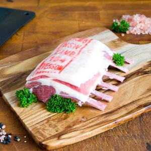 Pasture Fed Lamb Rack
