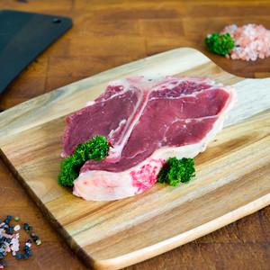 Beef T-Bone Steak Dry Aged