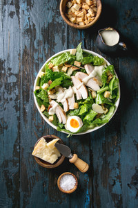 Free Range Chicken Breast is great for a simple Caesar Salad.