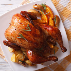 Roast Chicken, one of the best family roasts, cooked by many, enjoyed by all.
