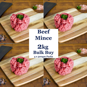 Beef Mince - 2kg Bulk Buy