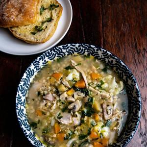Free Range Chicken Soup