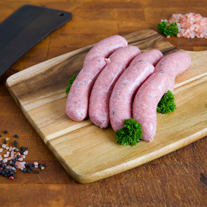 Gluten Free Grass Fed Thick Sausages