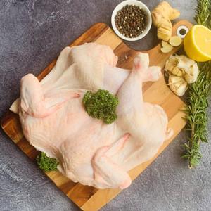 Free Range Plain Butterflied Chicken