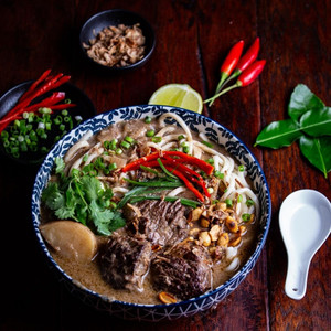 Massaman Curry with Grass Fed Beef Brisket