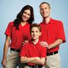 Red 16252 Moreno Men's Short Sleeve Polo Shirt - Models | Imprintables.ca