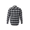 Quarry/Black, Back - Roots73 17603 Sprucelake Long Sleeve Shirt   imprintables.ca