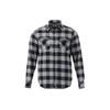 Quarry/Black - Roots73 17603 Sprucelake Long Sleeve Shirt   imprintables.ca