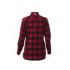Dark Red/Black, Back - Roots73 97603 Sprucelake Long Sleeve Shirt | imprintables.ca