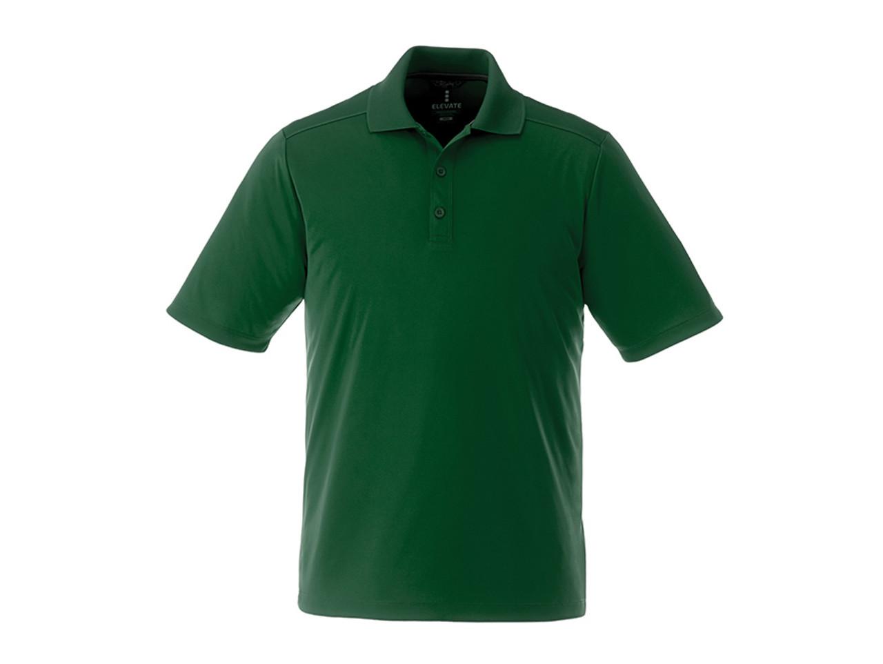 785b2779 ... Forest Green 16398 Dade Men's Short Sleeve Polo Shirt | Imprintables.  ...