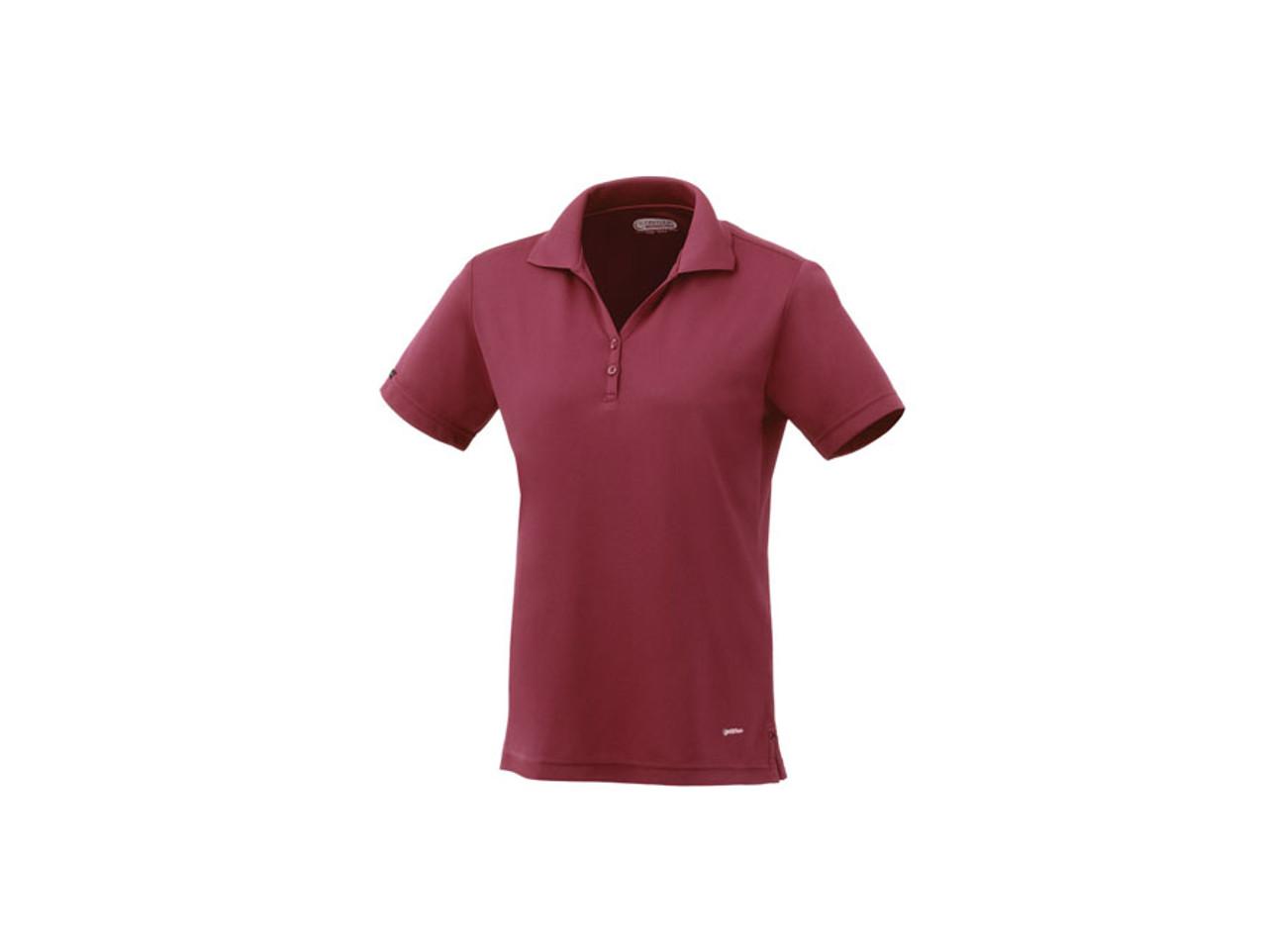 ... Maroon On Tour 96252 Women s Moreno Short Sleeve Polo Shirt  d826d568ba