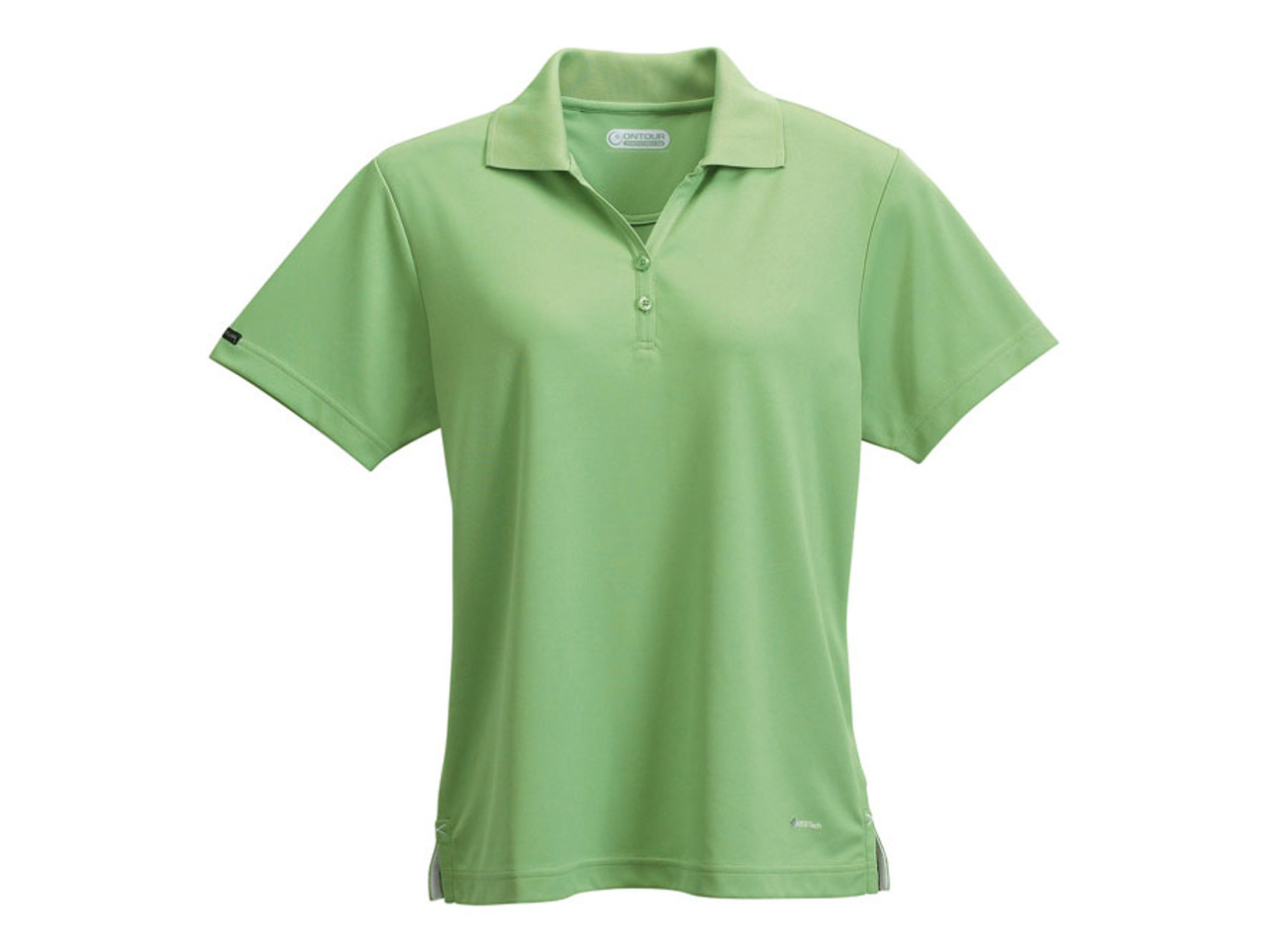 8b51f322 ... Green Tea On Tour 96252 Women's Moreno Short Sleeve Polo Shirt |  Imprintables.ca