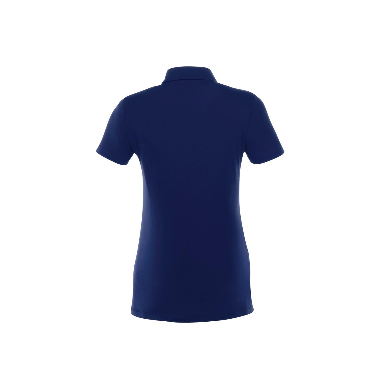 navy blue polo shirt back