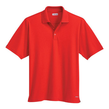 Red 16252 Moreno Men's Short Sleeve Polo Shirt | Imprintables.ca
