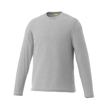 Heather Grey Elevate 17886 Holt Long Sleeve T-Shirt