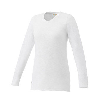 White Elevate 97886 Holt Women's Long Sleeve T-Shirt