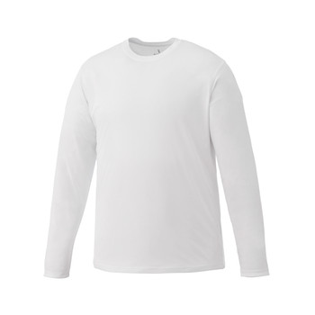 White Elevate 17888 Parima Long Sleeve Tech T-Shirt