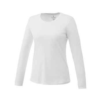 White Elevate 97888 Parima Women's Long Sleeve T-Shirt