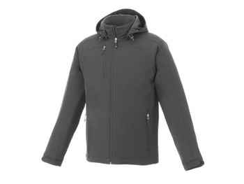 Charcoal Bryce Insulated Softshell Jacket