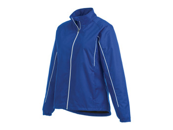 New Royal/White Women's Elgon Lightweight Jacket