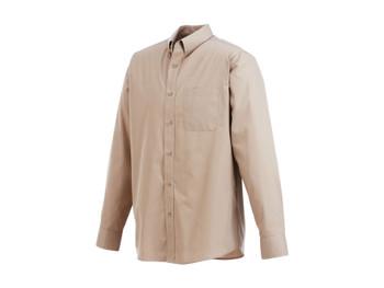 Tan 17742 Preston Long Sleeve Shirt | Imprintables.ca