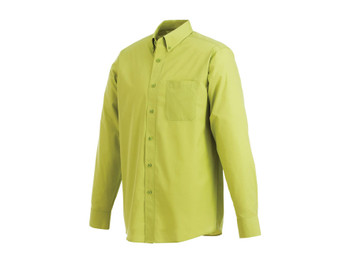 Dark Citron Green 17742 Preston Long Sleeve Shirt | Imprintables.ca