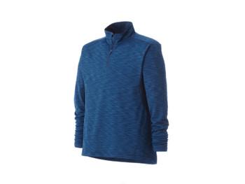 River Blue Heather/River Blue Yerba Knit Quarter Zip Fleece