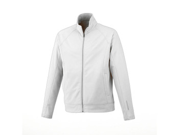 White Okapi Knit Jacket