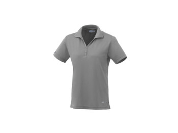 Steel Grey On Tour 96252 Women's Moreno Short Sleeve Polo Shirt | Imprintables.ca
